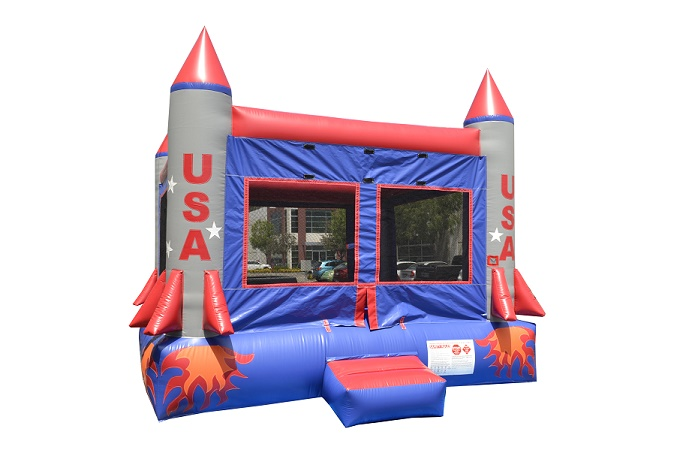 Rocket Bounce Inflatable Moonwalk Rental