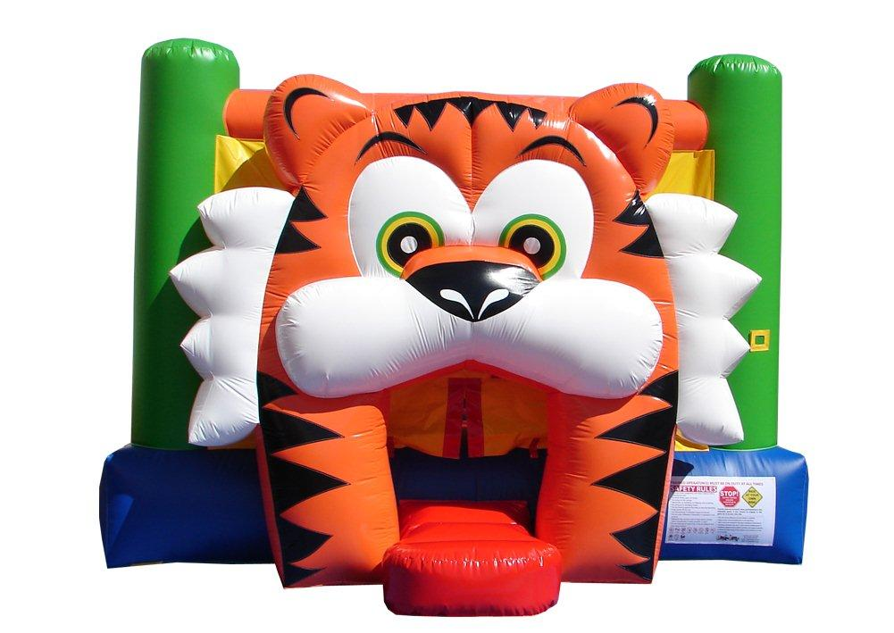 Inflatable Moonwalk Tiger Bounce