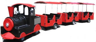 Trackless Train Ride Rental for Carnivals