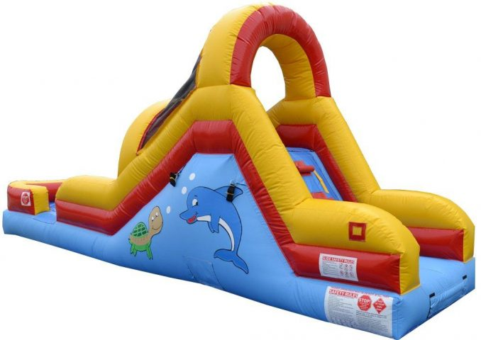 Toddler Wet and Dry Inflatable Slide