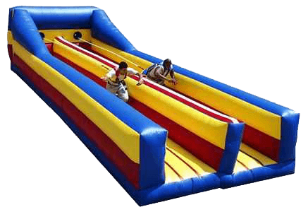 Bungee Run Inflatable Interactive Carnival Rental