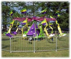 Dixie Twister Mechanical Swings Spinning Carnival Ride