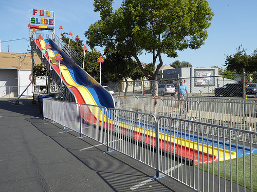 Large Fun Slide Carnival Rental