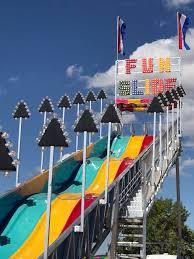 Fun Slide side view