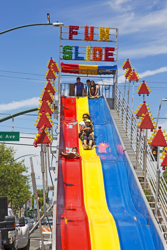 Funslide with 3 Slides