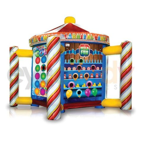 5 in 1 Inflatable Eye Candy Carnival Game