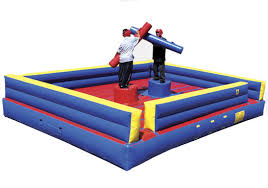 Pedestal Joust Competitive Inflatable Game Rental