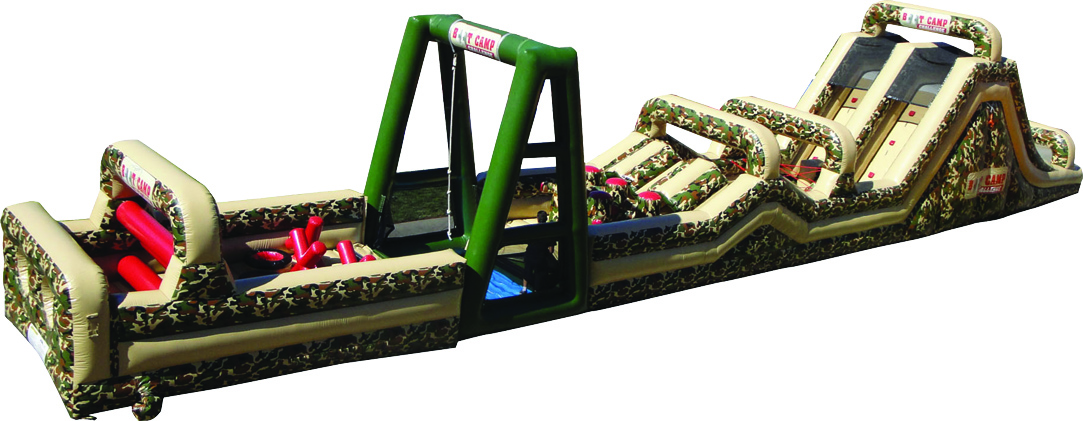 Bootcamp Inflatable Obstacle Course Rental