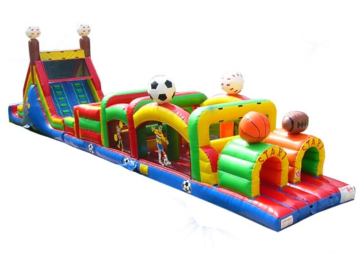 Inflatable Sports Obstacle Course Race