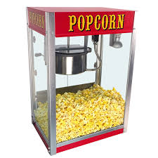 Carnival Size Popcorn Machine Rental with Popcorn