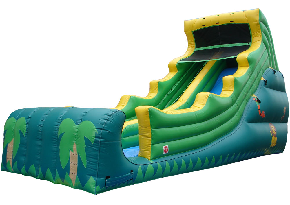 Tropical Inflatable Blow Up Slide