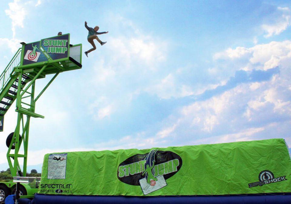Mobile Stunt Jump Zero Shock Rental