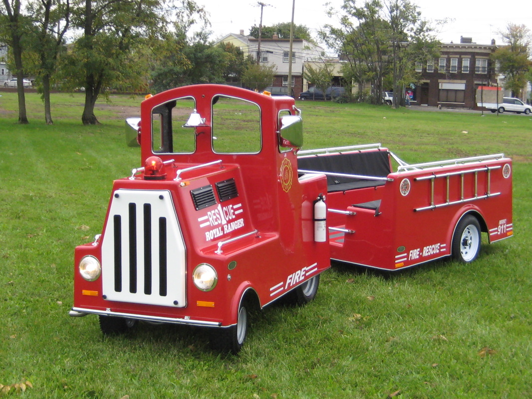 Mechanical Fire Truck Train Ride Rental