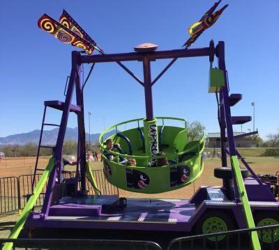 Uproar Spinning Carnival Ride Rental