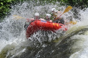 Virtual Reality White Water Rafting