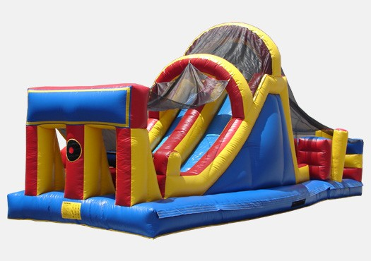 Adrenaline Inflatable Obstacle Course for Carnivals