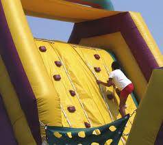 Fun Obstacle Course Rock Climbing