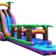 Inflatable 27' Water Coaster Slide and Slip n Slide
